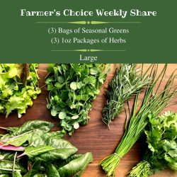 Large Farmer's Choice Weekly Share